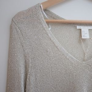 Shimmery Oversized top